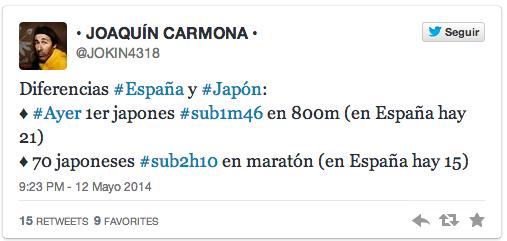 Joaquín Carmona Twitter