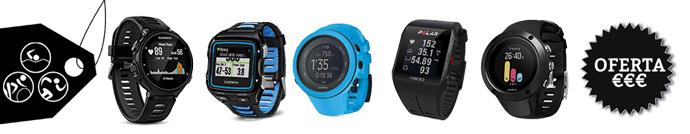 relojes gps triatlon en oferta y baratos
