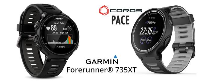 reloj gps Coros Pace similar Garmin Forerunner 735 y 935