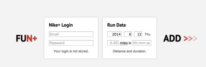 FunPlus añadir actividad a nike plus running