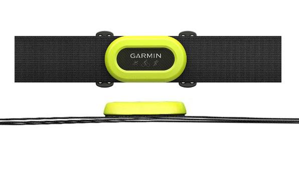 banda de pulso garmin hrm pro dual triatlon verde