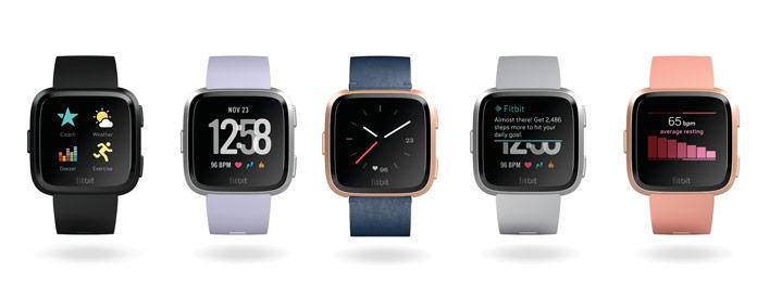 fitbit versa funciones smartwatch y deportivas
