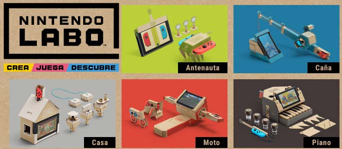 Nintendo Labo kits Toy-cons