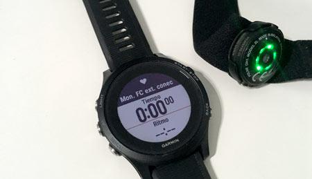 conexión pulsómetro oh1 como sensor externo en relojes gps