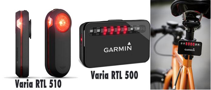 comparativa radar Garmin varia (RTL 510) nuevo con antiguo (RTL 500)