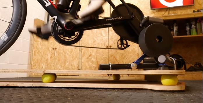 fabricación de un rocker plate para rodillo (plataforma balancín) casera.