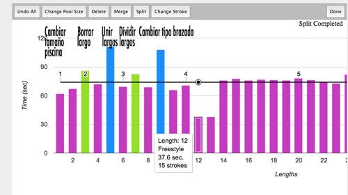 web para corregir errores en actividades y archivos fit de natación de relojes garmin