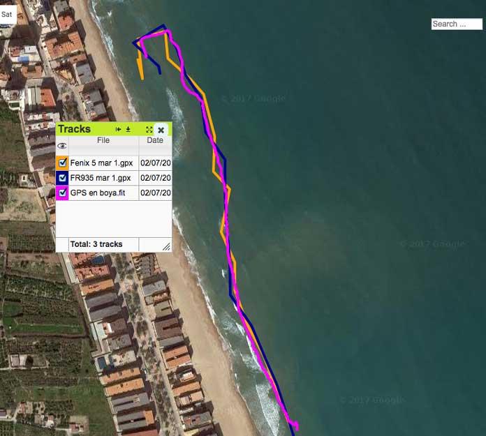 precisión relojes natación aguas abiertas Garmin Forerunner 935 vs fenix 5