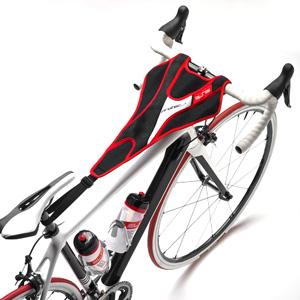 protector de sudor cuadro bicicleta entrenamiento rodillo ciclismo
