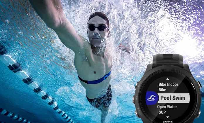 99a9b5e7 Relojes Garmin para natación en piscina y aguas abiertas.