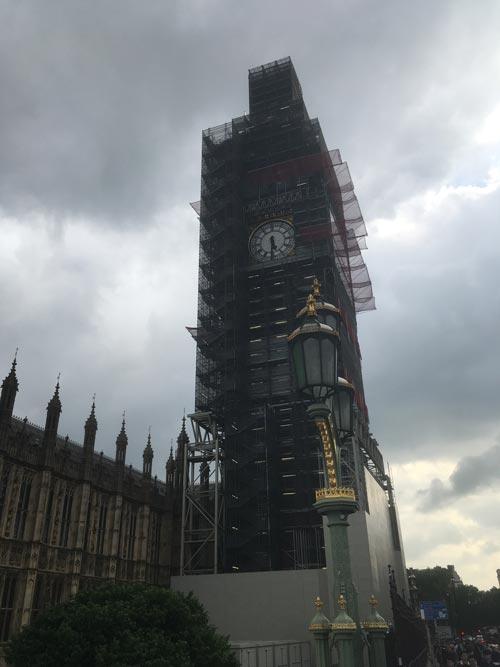 Big Ben en obras