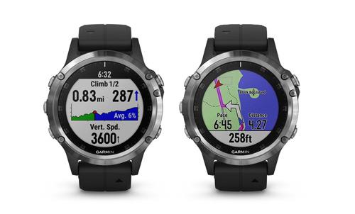 Pantallas de navegación ClimbPro y mapa base con indicaciones de rutas.