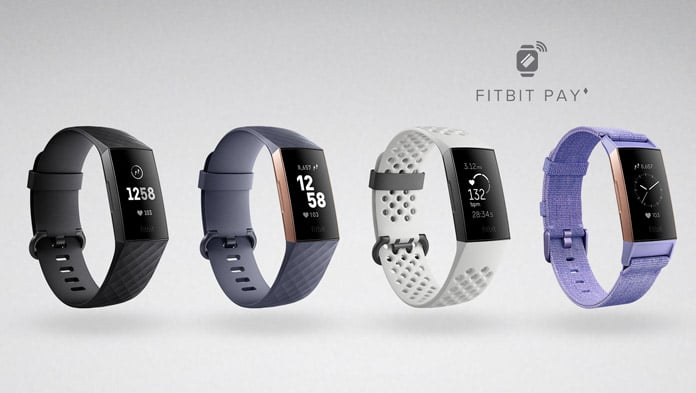 colores y versiones disponibles fitbit charge 3