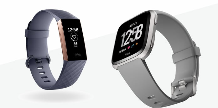 comparativa fitbit versa versus fitbit charge 3