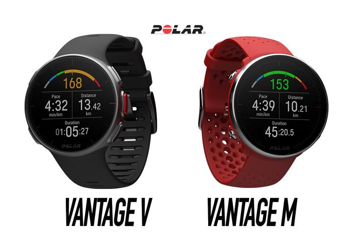 comparativa entre el Polar Vantage V y el Polar Vantage M