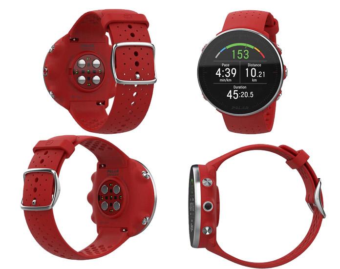 nuevo reloj gps Polar Vantage M con pantalla circular y nuevo pulsómetro de muñeca
