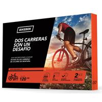 caja regalo para ciclistas de carretera y montaña con carreras por toda españa