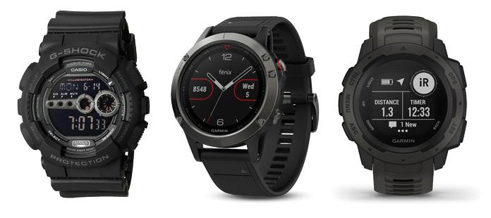Nuevo Garmin Instinct con el diseño de Casio G-Shock y las funciones de Fenix 5.