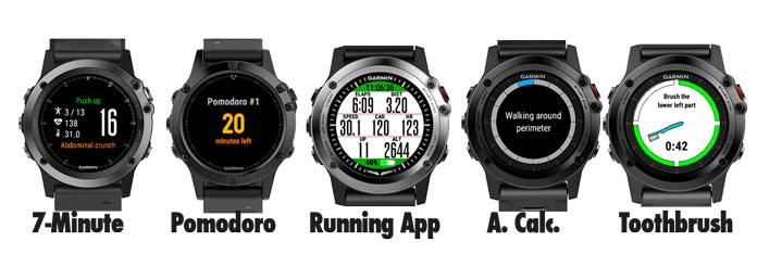 Mejores apps connect iq para relojes gps Garmin