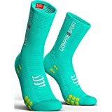Compressport - COMPRESSPORT - Chaussettes - RACING SOCKS V3.0 BIKE Bleu - tailles : T3