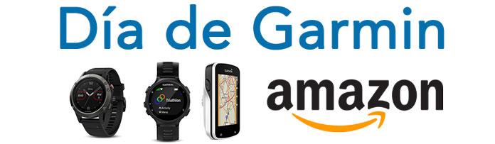 ofertas especiales en relojes gps y ciclocomputadores durante el Garmin Day de amazon