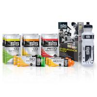 pack de geles energéticos para triatlón varios sabores