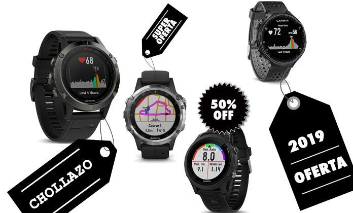 Relojes gps y pulsómetros deportivos en oferta y baratos.