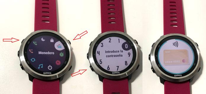 Cómo pagar con Garmin Pay en un reloj gps de Garmin