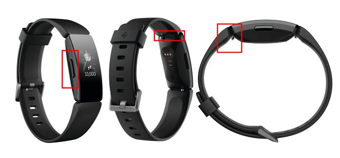 novedades diseño pulsera de actividad fitbit inspire HR