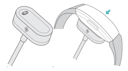 nuevo cargador pulsera fitbit inspire HR
