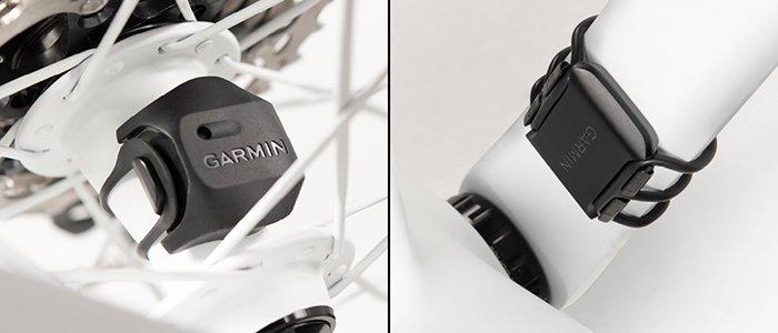 nuevo (segunda versión) sensor de velocidad y cadencia para ciclismo de Garmin