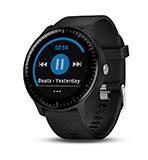 Garmin Vivoactive 3 Music Smartwatch GPS con Profili Sport, Sensore Cardio, Musica Integrata e Pagamento Contactless, Nero