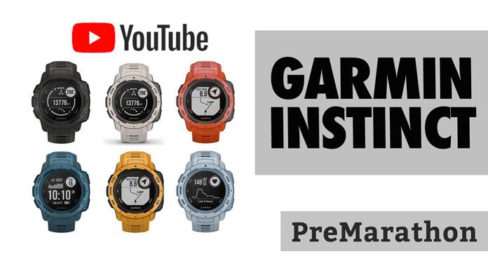 Video Garmin Instinct Youtube: análisis, pruebas y navegación.