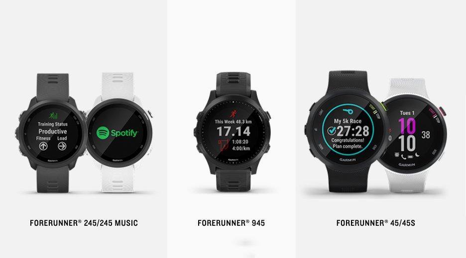 Nuevos relojes gps de Garmin