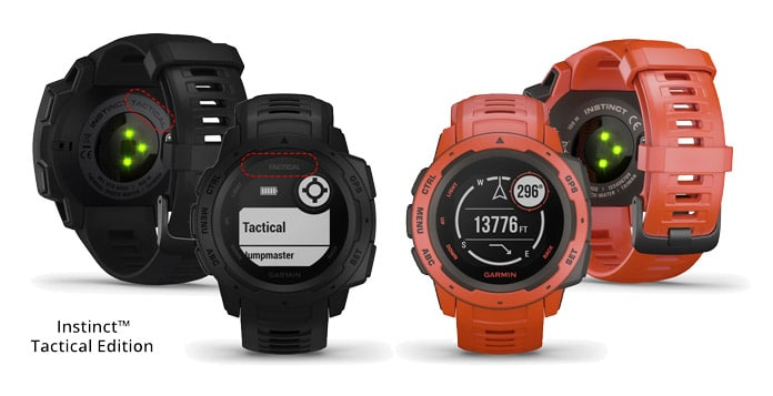 Diferencias Garmin Instinct vs Garmin Instinct Tactical Edition