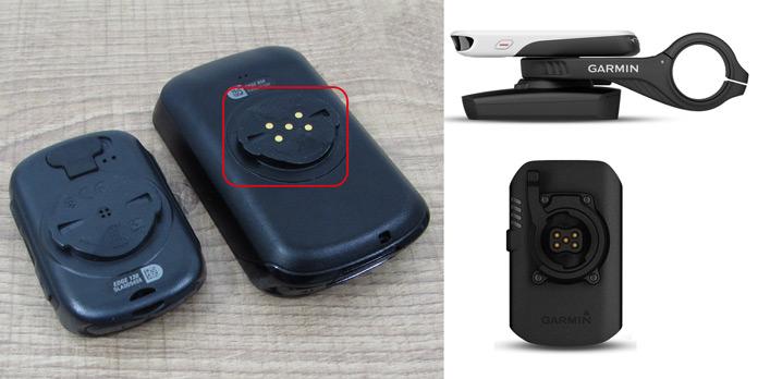 Sistema de acople de batería externa Garmin Charge para los Edge 530/830/1030