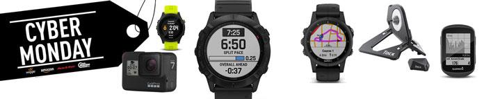 Ofertas Cyber Monday en gadgets relojes gps, accesorios ciclismo y ciclocomputadores