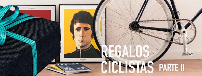regalos originales para ciclistas: ropa, complementos y libros de ciclismo