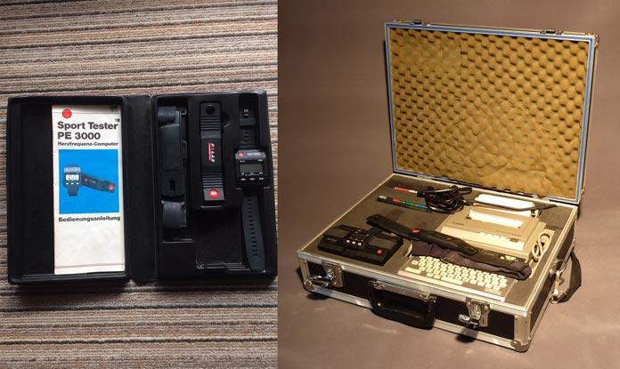 Polar Sport Tester PE 3000: pulsómetro inalámbrico deportivo antiguo
