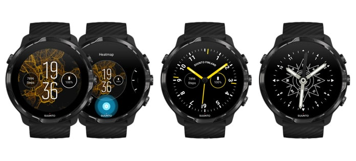 watchfaces Suunto 7 con wear os