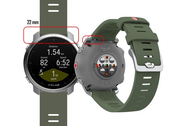 diseño montañero del nuevo reloje gps Polar Grit X