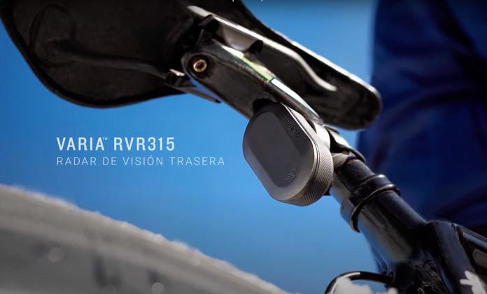 Radar de visión trasera Garmin Varia RVR315