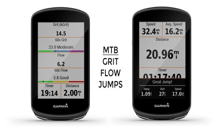 métricas para mountain bike btt Garmin Edge 1030 Plus