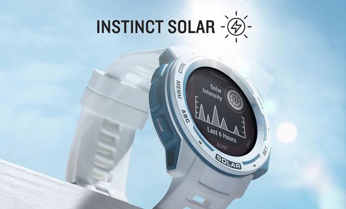 nuevos garmin instinct solar y solar surf: análisis, características y opiniones iniciales