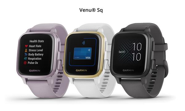 colores disponibles y precio del Garmin Venu SQ