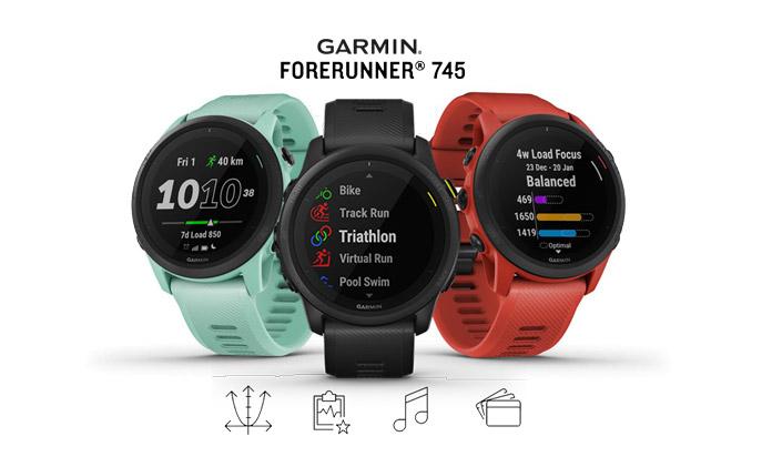 Análisis, características, especificaciones y opinión del nuevo Garmin Forerunner 745