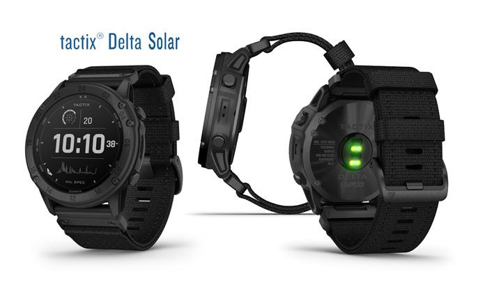 Garmin Tactix Delta Edición Solar con cristal Power Sapphire.