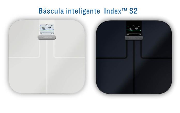 colores disponibles y precio báscula inteligente garmin index s2