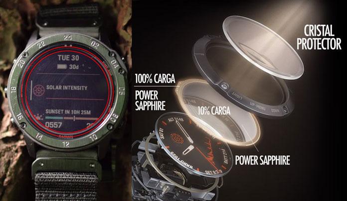 Funcionamiento de la carga solar en el cristal Power Sapphire del Tactix Delta Solar