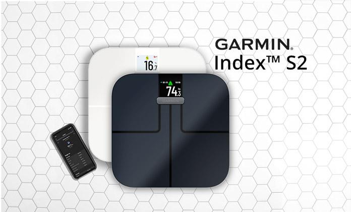 nueva báscula inteligente garmin index s2